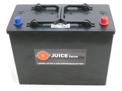 Juice 12V 125AH Commercial Battery Type 647 (Collect Only)