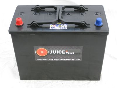 Juice 12V 125AH Commercial Battery Type 648 (Collect Only)