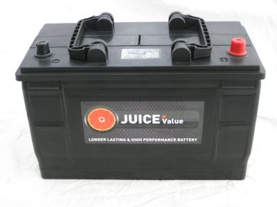 Juice 12V 110AH Commercial Battery Type 663 (Collect Only)