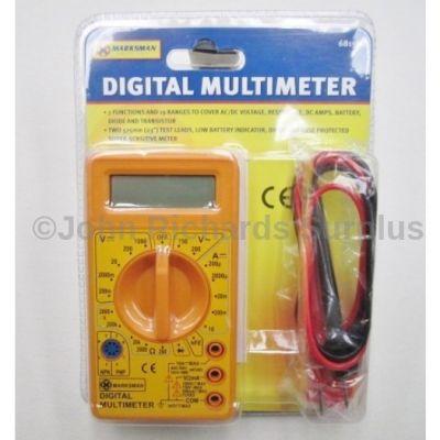 Marksman Digital Multimeter Tester 68159c