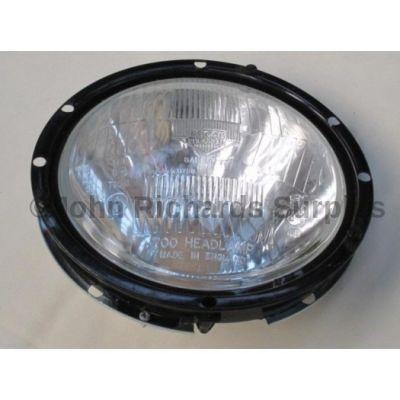 Land Rover headlamp and bezel 7106