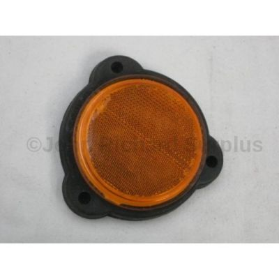 Rubbolite amber side reflector 3 bolt fixing 73/02/00