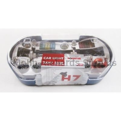 Emergency Car Bulb and Fuse Kit 81277c