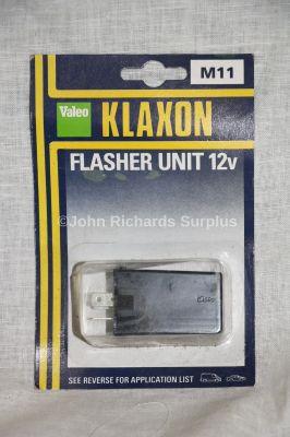 Valeo 12volt Klaxon 3 Pin Flasher Unit M11
