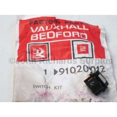 Vauxhall fog light switch 91020012