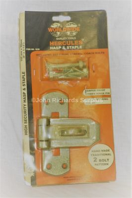 Wordwide Hercules 6 inch Hasp & Staple kit 1630
