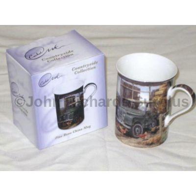 Cachet Land Rover series 1 mug