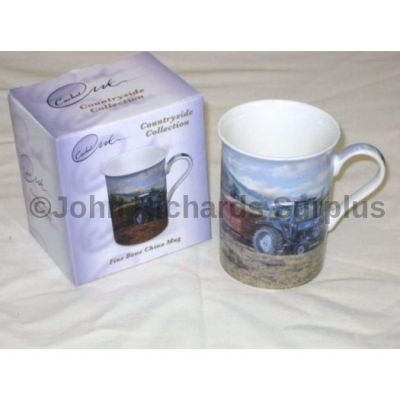 Countryside Collection Fine China Mug Tractor Ford 5610