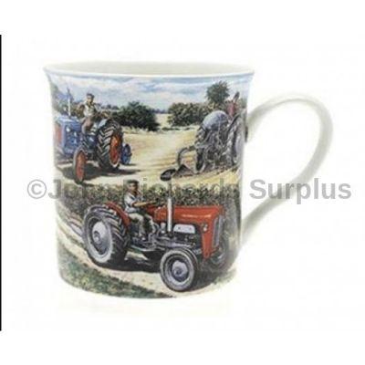 Fine Art mug Massey Ferguson 35, Ford Dexta & Ferguson TE20 Tractors