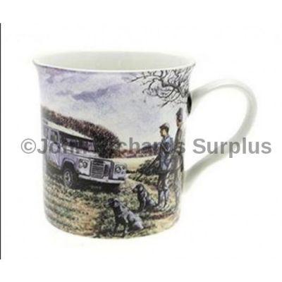 Fine Art mug Land Rover series 3 on the shoot