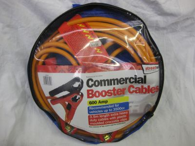 Streetwise 600 Amp Commercial Battery Booster Cables SWBC9