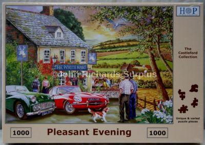 Pleasant Evening 1000 Piece Jigsaw Puzzle Jaguar Triumph