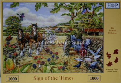 Sign of the Times 1000 Piece Jigsaw Puzzle Ferguson Tractor