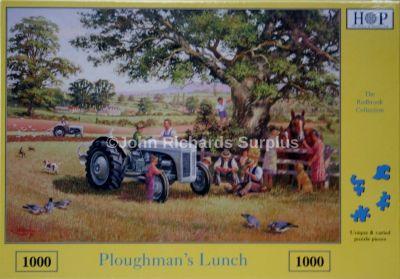 Ploughman's Lunch 1000 Piece Jigsaw Puzzle Ferguson Tractor