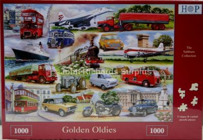 Golden Oldies 1000 Piece Jigsaw Puzzle Classic Transport