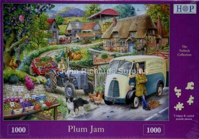 Plumb Jam 1000 Piece Jigsaw Puzzle Ferguson Tractor & Morris Van