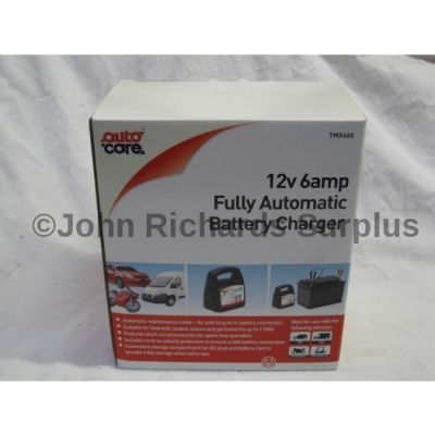 Auto Care 12 Volt 6 Amp Fully Automatic Battery Charger TMX460