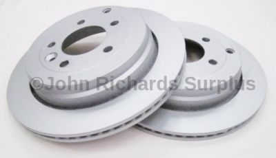 Brake Disc Vented Rear Pair SDB000636