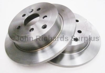 Brake Disc Rear Pair Solid LR001018