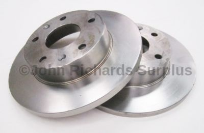 Brake Disc Front Pair Solid SDB100830