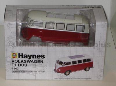 Haynes Build Your Own Volkswagen T1 Bus 1:24 Scale