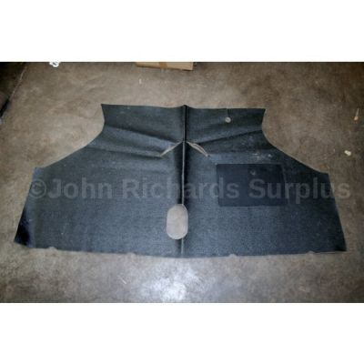 Austin BMC Mini Black Front Carpet RHD Models CZH3720