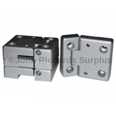 Door Hinge Set - Aluminium DA1131