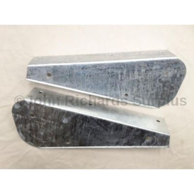 Mud Flap Bracket Pair Rear Galvanized DA1187