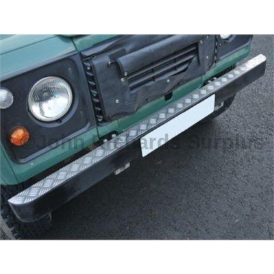 Defender Single Bumper Top Aluminium Chequer Plate P.O.A DA2054