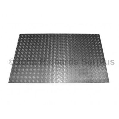 Defender 110 County Station Wagon Aluminium Rear Floor Chequer Plate  P.O.A DA2063