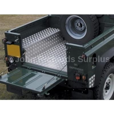 Defender 90 Load Bay Liner Aluminium Chequer Plate P.O.A DA2070