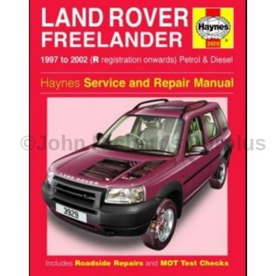 Haynes Freelander Service and Repair Manual 1997 - 2003