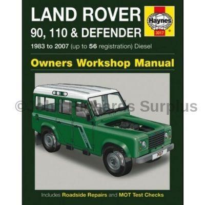Haynes Defender Owners Workshop Manual 1983 - 2007