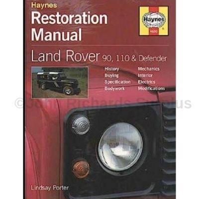 Haynes Defender 90 & 110 Restoration Manual