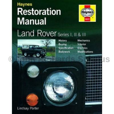 Haynes Series 1, 2, 2a & 3 Restoration Manual