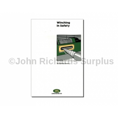 Winch in Safety Guide by Land Rover P.O.A DA3156