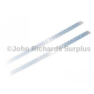 Defender 110 Pair of  Aluminium Sill Chequer Plates P.O.A DA4100
