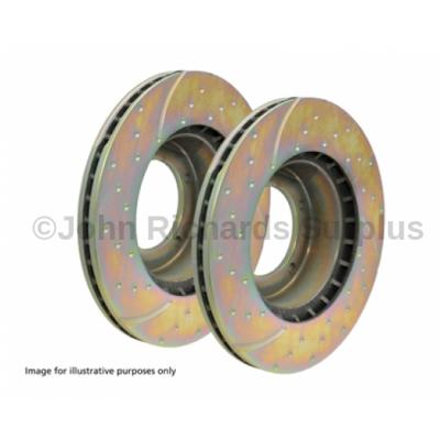EBC Front Vented Brake Disc Pair P.O.A DA4151