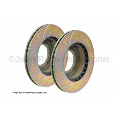 EBC Front Vented Brake Disc Pair P.O.A DA4158