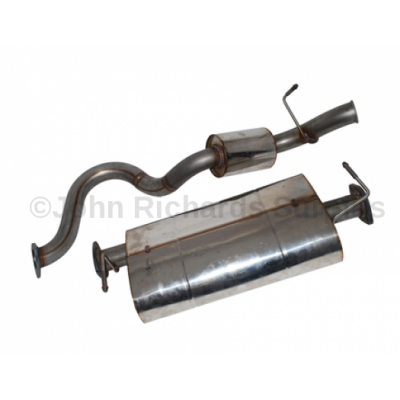 Defender 90 TD5 Stainless Steel Exhaust System P.O.A DA4235