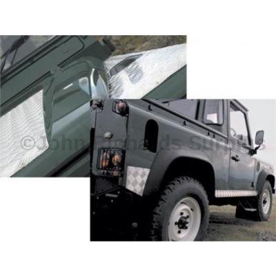 Defender 90 (up to 2006) Aluminium Chequer Plate Kit P.O.A DA4296