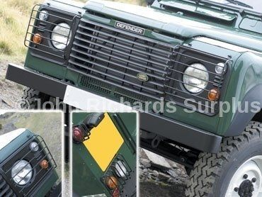 Defender Wolf Style Front And Rear Lamp Guard Set P.O.A DA4400