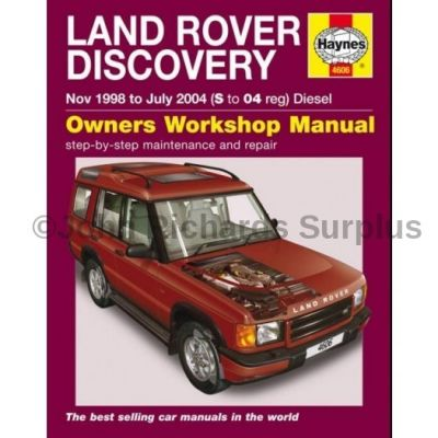 Haynes Discovery 2 Owners Workshop Manual 1998 - 2004
