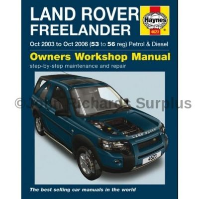 Haynes Freelander Owners Workshop Manual 2003 - 2006