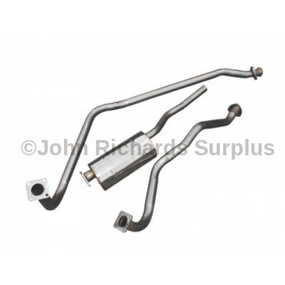"Series 1 88"" Stainless Steel Exhaust System P.O.A DA4540"