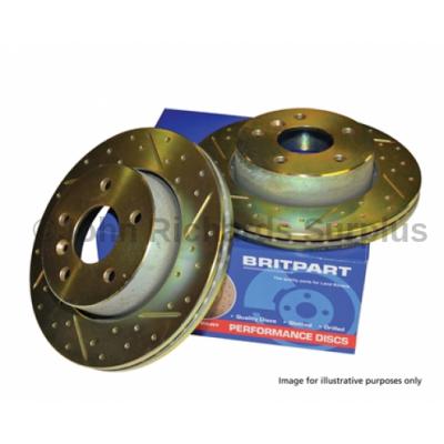 Britpart Performance Front Vented Brake Disc Pair P.O.A DA4606