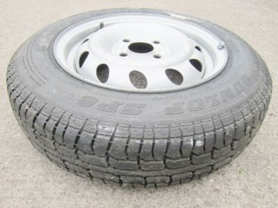 Dunlop SP6 145 R13 Tyre On Rim