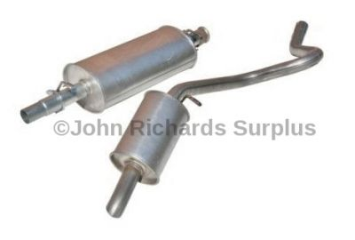Exhaust Centre Silencer & Tail Pipe 200 TDi ESR238