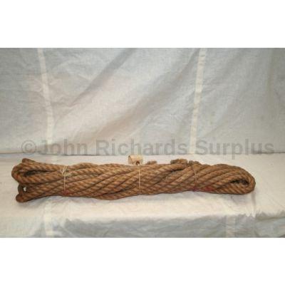 "Hemp rope 3/4"" x 50 feet F4110"