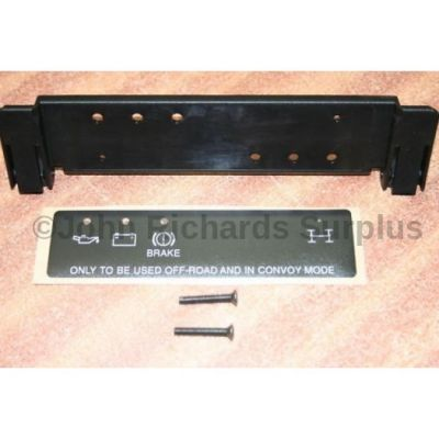 Wolf Instrument Panel Blank FCZ100050